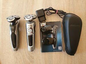 2 Stück Philips nass trocken Rasierer Series 9000