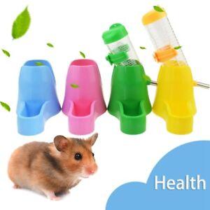 80ML Pet Hamster Water Drinker Dispenser Food Stand Feeder Dish Bowl Bottle lxq