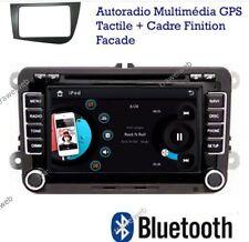 autoradio bluetooth 2 DIN gps DVD pour seat altea xl + cadre facade avant