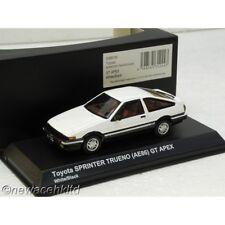 TOYOTA SPRINTER TRUENO AE86 WHITE/BLACK kyosho MODELS 1/43 #03891W