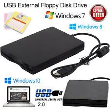 "USB 2.0 3.5"" Unidad de Disquete Externa lector de 1.44 MB portátil FDD PC Laptop"