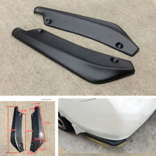 2 Pcs Universal Car Bumper Spoiler Rear Lip Anti-crash  Angle Splitter Diffuser