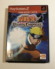 Naruto: Uzumaki Chronicles - Playstation 2 PS2 Game - Tested