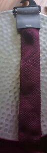 Mens Marks And Spencers Limited Edition  Knitted Tie Bnwt