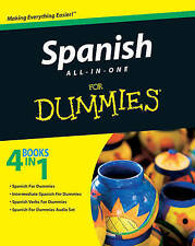 NEW Spanish All-in-One For Dummies by Consumer Dummies