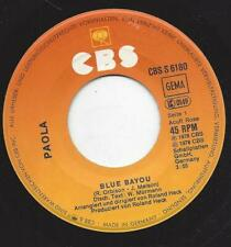 Paola 1978 :  Blue Bayou  +  Juke Box - Vinyl Single