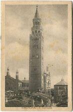 1925 Cremona Il Torrazzo Duomo Battistero Tetti Città Ponte Di Legno FP B/N VG