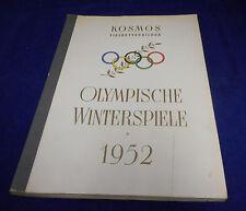 Sammelbildalbum Olympische Winterspiele 1952 vollständig
