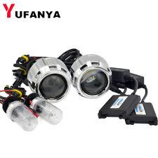 2.5'' H1 Bi xenon HID Projector Lens Kit 35W Ballast H1 Bulb fit H4 H7 Headlight