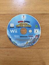 Mario et Sonic aux Jeux Olympiques d'Hiver pour Nintendo Wii * Disque Seulement *