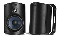 NEW Polk Audio Atrium 4 Outdoor Speakers Pair Black FREE SHIPPING