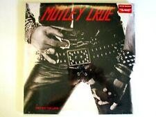 MOTLEY CRUE TOO FAST FOR LOVE LP RARE 180 GRAM BLACK MARBLE VINYL