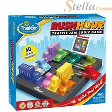 Rush Hour Traffic Jam Logic Puzzle  Thinkfun Board Challenge Game 8+