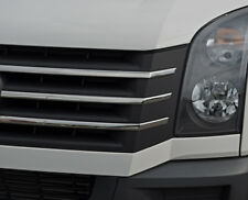 Chrome Front Grille Accent Trim Set Covers To Fit Volkswagen Crafter (2012-16)