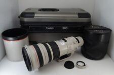 Canon EF 500mm F4L IS USM AF Lens for EOS EF Mount with Trank Case #210112d