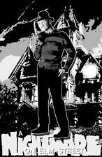 "A Nightmare On Elm Street ""Black Light"" Poster"