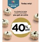 Kohls 40% Expires 10/17 Valid In Store And Online