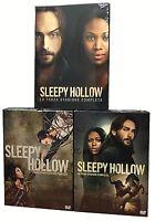 14 Dvd x 3 Box Cofanetto SLEEPY HOLLOW ♦ STAGIONE PRIMA SECONDA TERZA • 01+02+03