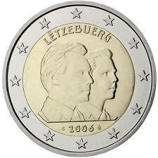 """2 € de Luxemburgo 2006"""" 25. cumpleaños de heredero Guillaume """"STG."""