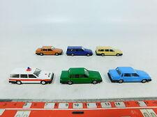 AX781-0,5# 6x IMU H0/1:87 PKW/Automobil/Modell Volvo 760 GLE: Notarzt etc, NEUW