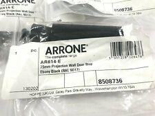 🏡 ARRONE (AR614-E) 75mm Quality Ebony Black Projection Wall Door Stops DIY Home
