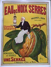 Original Vintage Poster Eau De Noix Serres ca.1910 by Franc Malzac