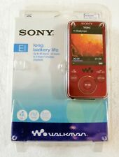 Sony 4 GB Walkman Video MP3 Player NWZ-E436F (Red)