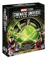 Marvel Cinematic Universe Phase Three 3 Part 1 [Blu-ray Box Set Region Free] NEW