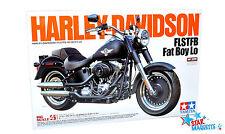 Tamiya maquette moto Harley Davidson Fat Boy Lo 1/6 - 16041