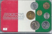 MEXICO-86...COMPEONATO MUNDIAL DE FUTBOL...COMMEMORATIVE SET