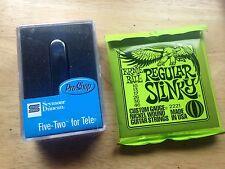 Seymour Duncan Five-Two Telecaster Rhythm Neck Pickup STR-52 ERNIE BALL STRINGS
