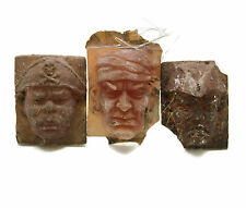 Vintage Pirate Head Plaque Resin  Sculptures Molds Samples Howard Ball Brothers