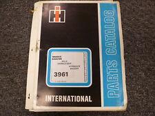 International 3961 Hydraulic Excavator Parts Catalog Manual