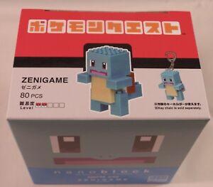 Kawada Nanoblock ZENIGAME - japan building toy block LTD NBPM_040 Pokemon