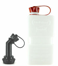 FuelFriend®-PLUS CLEAR 1,5L Reserve Benzinkanister + Füllrohr verschließbar