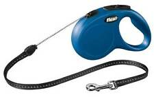 Correas Flexi color principal azul para perros
