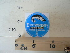 STICKER,DECAL BROWNING FISHING TACKLE WORLD CHAMPION