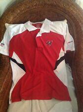 Reebok tampa bay bucaneers football polo shirt size M Men's