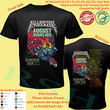 KILLSWITCH ENGAGE AUGUST BURNS RED ATONEMENT TOUR 2020 Concert T-shirt All size