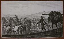 G. P. RUGENDAS `BELAGERUNG DER STADT AUGSBURG IM JAHRE 1703/04` T. 35; ~1705