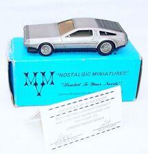 MVM Models USA 1/43 DeLorean Giorgetto Giugiaro Kit Car Hand Built MIB TOP RARE!