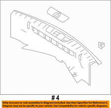 FORD OEM 11-15 Explorer Interior-Rear-Sill Plate EB5Z7842624DB