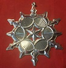 2006 Gorham Sterling Silver Christmas Snowflake Ornament - FREE SHIPPING!