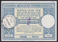 ISRAEL, 1963. Int'l Reply Coupon 36/40ag, Tel Aviv