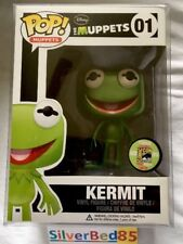 Funko Pop The Muppets Metallic Kermit The Frog Vinyl SDCC 2013 Limited 480 #01