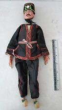 SPECTACULAR! Handmade 19th.c Qing Dynasty Chinese Folk Opera Puppet Physician