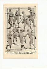 Giants 1921 Team Picture Casey Stengel Mike Gonzalez Wally Kopf Red Shea #B