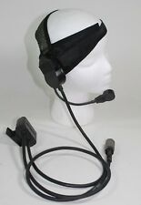 NEW Harris RF-3020-HS003 Headset For AN/PRC-152 & 152A Headphones PTT 6 PIN