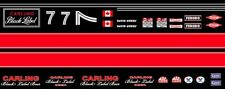 #7 David Hobbs Carling Black Label Mclaren 1/64th HO Scale Slot Car Decals
