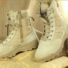 Men's Classic Tactical Army Outdoor Combat Ankle Boots SWAT Hiking Hunting Shoes
